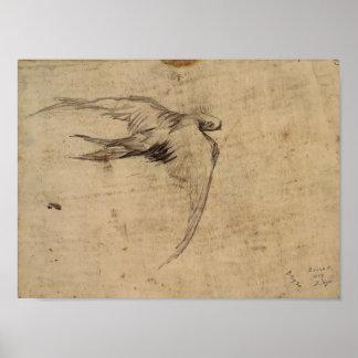 Van Gogh - rapide Posters