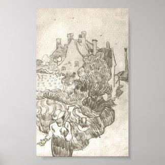 Van Gogh - une Chambre chez Auvers Posters