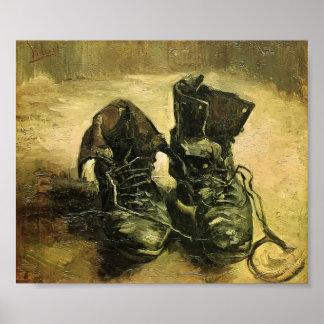 Van Gogh - une paire de chaussures Posters
