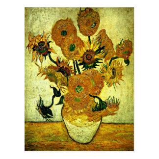 Van Gogh - vase toujours à la vie avec 14 Carte Postale