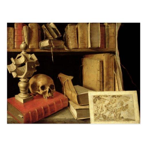 Vanitas avec un cadran solaire, c.1626-40 cartes postales