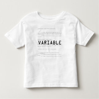 Variable T-shirt
