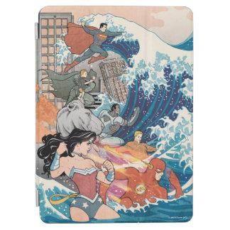 Variante comique de la couverture #15 de ligue de protection iPad air