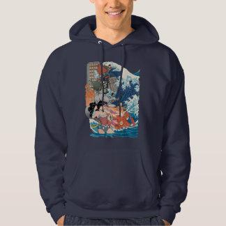 Variante comique de la couverture #15 de ligue de veste à capuche