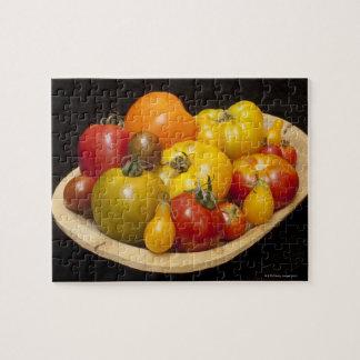 Variété de tomates puzzle