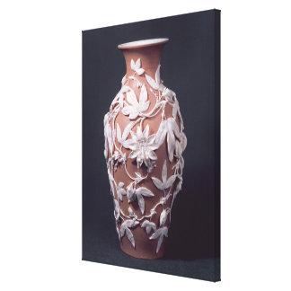 Vase à articles de Minton Parian, 1894 Toiles