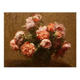 Vase à Henri Fantin-Latour de carte postale de