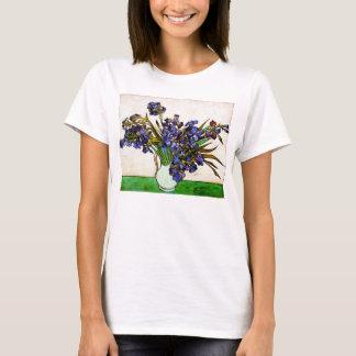 Vase à Van Gogh de T-shirt d'iris