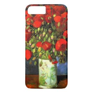 Vase à Vincent van Gogh avec l'art floral de Coque iPhone 7 Plus