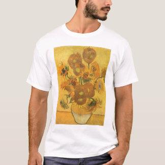 Vase avec 15 tournesols par Vincent van Gogh T-shirt