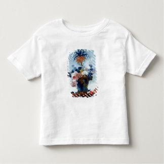 Vase avec des fleurs t-shirt pour les tous petits