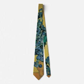 Vase avec des iris par Vincent van Gogh, art Cravates