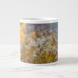 Vase avec des lilas et des marguerites par Vincent Mug