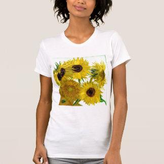 Vase avec douze tournesols, beaux-arts de Van Gogh T-shirt
