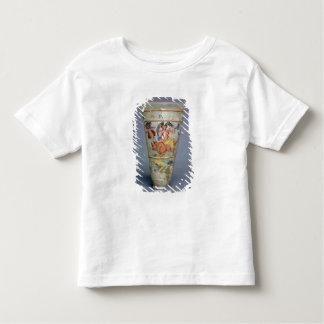 Vase avec la décoration peinte dépeignant l'Europa T-shirt Pour Les Tous Petits