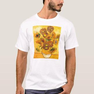 Vase avec quinze tournesols par Vincent van Gogh T-shirt
