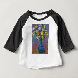 Vase de chrysanthèmes Claude Monet T-shirt Pour Bébé