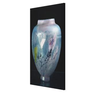 """Vase en cristal, """"d'Automne de Les Veilleuses"""", 18 Toiles"""