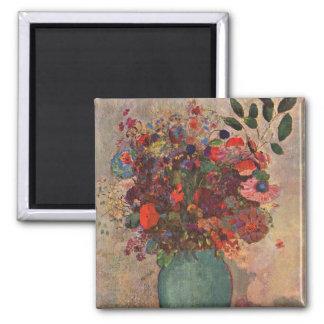 Vase turc, Odilon Redon, fleurs vintages florales Aimants