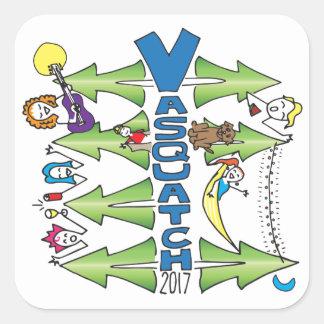 Vasquatch 2017 - Grand autocollant