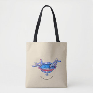 Vasque bizantine tote bag
