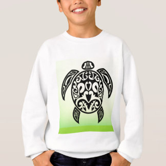 VectorPortal-Turtle-Tattoo-Vector.ai Sweatshirt