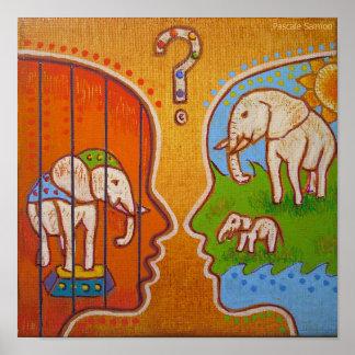 Vegan circus without animals Poster