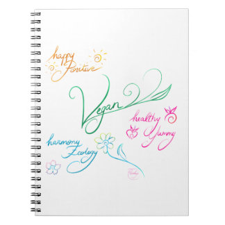 Vegan & happy lifestyle carnet