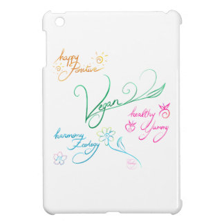 Vegan & happy lifestyle coques iPad mini