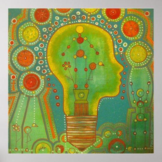 Vegan light connection Poster