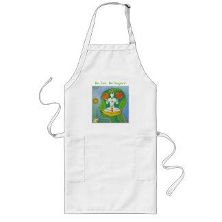 Vegan zen cooking tablier