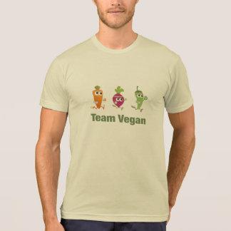 Végétalien d'équipe t-shirt