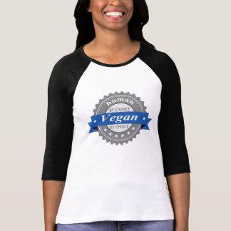 Végétalien d'humain par hasard - par choix t-shirt