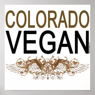 Végétalien du Colorado Poster