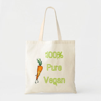 végétalien pur de 100% - carotte sacs