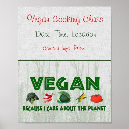Végétaliens pour la planète posters
