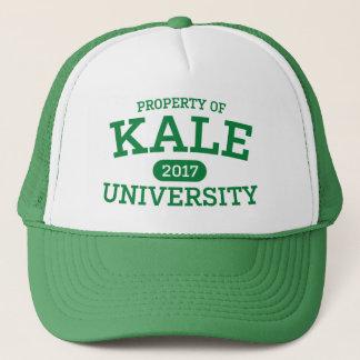 Végétarien de végétalien d'université de chou casquette