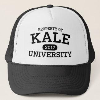 Végétarien drôle de végétalien d'université de casquette