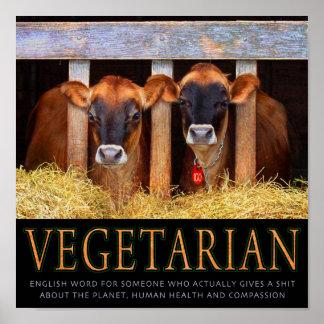 Végétarien ! posters