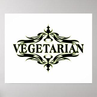Végétarien Posters