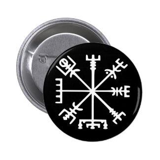 Vegvísir (boussole de Viking) Badge