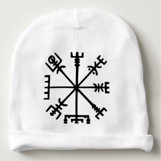 Vegvísir (boussole de Viking) Bonnet De Bébé