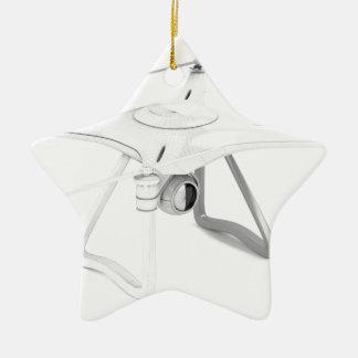 Véhicule aérien téléguidé (bourdon) ornement étoile en céramique