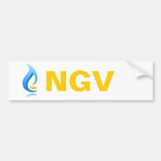 Véhicule de gaz naturel d'adhésif pour pare-chocs autocollant de voiture