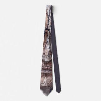 Veines et muscles principaux cravate