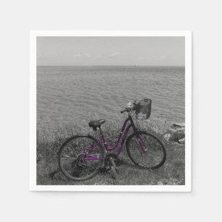 Vélo à la couleur choisie de Mackinac Serviettes Jetables