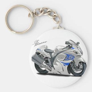 Vélo Blanc-Bleu de Hayabusa Porte-clés