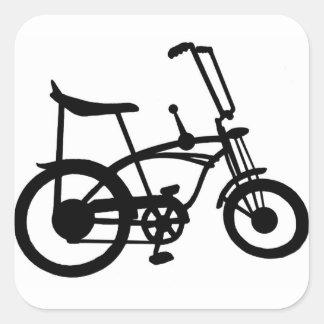 VÉLO CLASSIQUE de PASTENAGUE du VÉLO BICYLE Sticker Carré