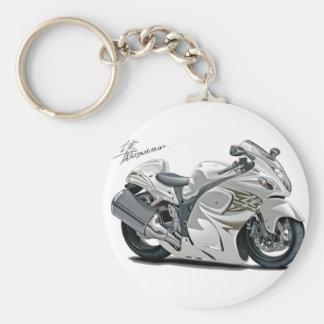 Vélo de blanc de Hayabusa Porte-clés