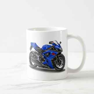 Vélo de bleu de Suzuki GSX-R600 Mug